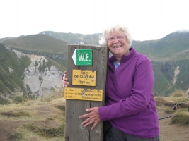 Walking in the Auvergne - Top of the World
