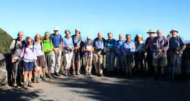 Walking in the Auvergne - Group Photo