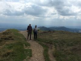 meandering on the malverns