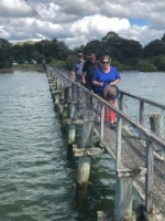 New Zealand Northland Rally - Longest Footbridge in the Southern Hemisphere
